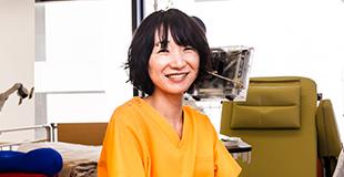 臨床工学技士 坂本郁美